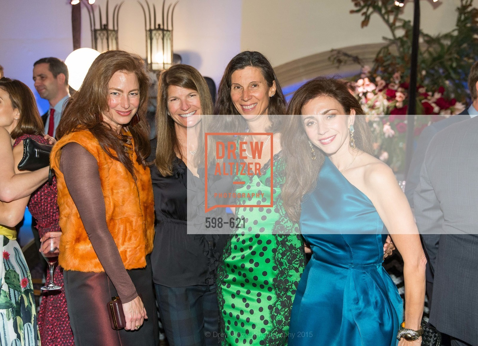 Sheila Nahi, Martha Ehmann Conte, Jennifer Fonstad, Maryam Muduroglu, Children of Shelters' Jingle and Mingle, Golden Gate Club. 135 Fisher Loop, December 3rd, 2015,Drew Altizer, Drew Altizer Photography, full-service agency, private events, San Francisco photographer, photographer california