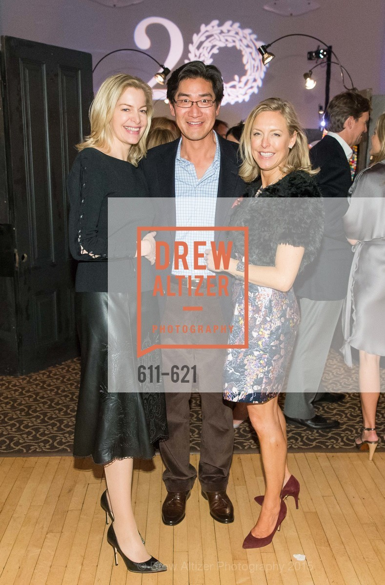 Victoria Raiser, David Chung, Kate Sheridan Chung, Children of Shelters' Jingle and Mingle, Golden Gate Club. 135 Fisher Loop, December 3rd, 2015,Drew Altizer, Drew Altizer Photography, full-service agency, private events, San Francisco photographer, photographer california