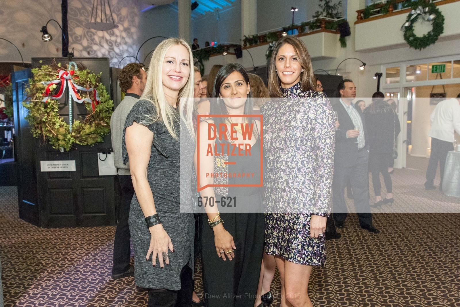 Carrie Gretsch, Nicole Lenihan, Children of Shelters' Jingle and Mingle, Golden Gate Club. 135 Fisher Loop, December 3rd, 2015,Drew Altizer, Drew Altizer Photography, full-service agency, private events, San Francisco photographer, photographer california