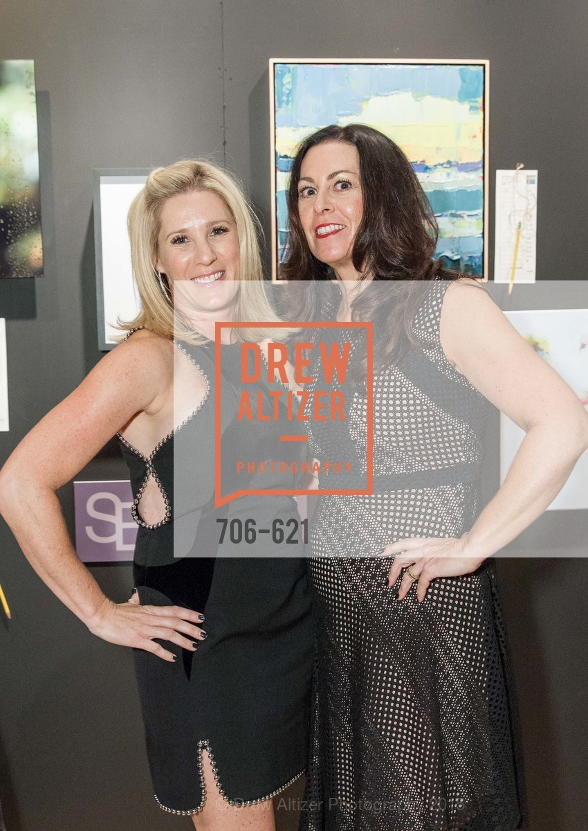 Melissa Elbaz, Triva Von Klark, Children of Shelters' Jingle and Mingle, Golden Gate Club. 135 Fisher Loop, December 3rd, 2015,Drew Altizer, Drew Altizer Photography, full-service agency, private events, San Francisco photographer, photographer california