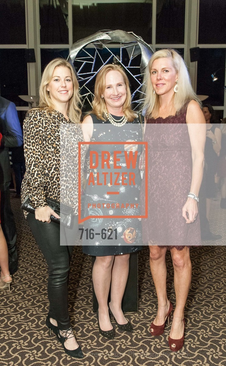 Christina Dunning, Anne Pedrero, Holly Farrell, Children of Shelters' Jingle and Mingle, Golden Gate Club. 135 Fisher Loop, December 3rd, 2015,Drew Altizer, Drew Altizer Photography, full-service agency, private events, San Francisco photographer, photographer california