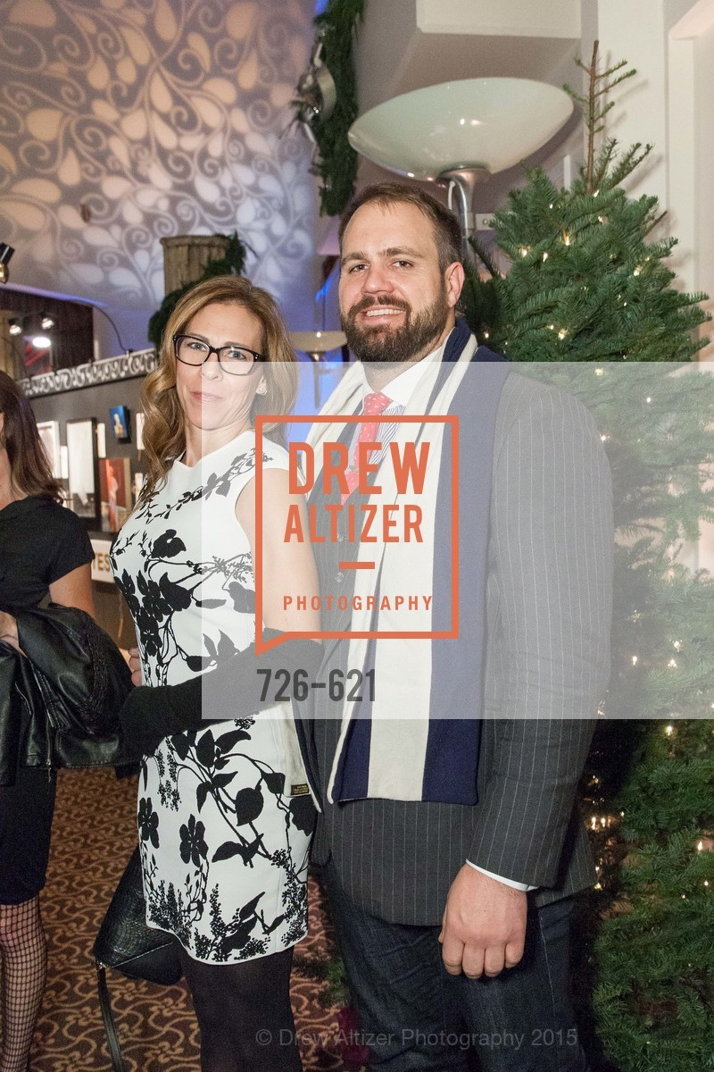 Carol Jeske, Will Johnson, Children of Shelters' Jingle and Mingle, Golden Gate Club. 135 Fisher Loop, December 3rd, 2015,Drew Altizer, Drew Altizer Photography, full-service agency, private events, San Francisco photographer, photographer california