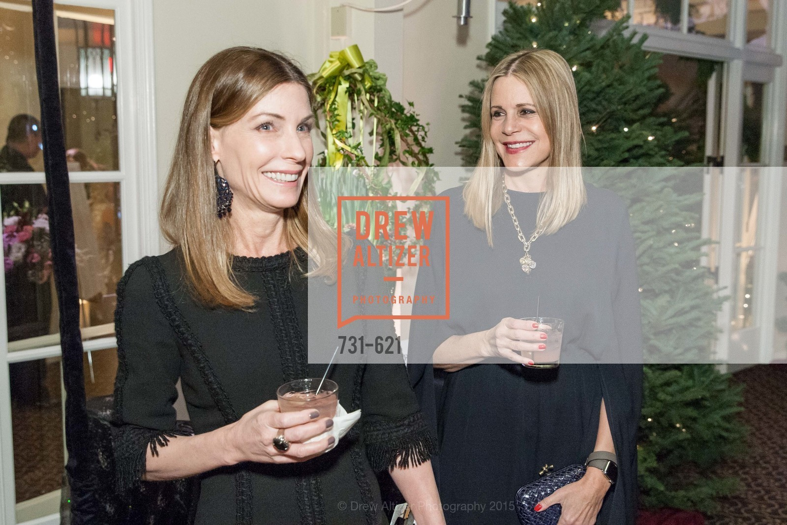 Lisa Zanze, Mary Beth Shimmon, Children of Shelters' Jingle and Mingle, Golden Gate Club. 135 Fisher Loop, December 3rd, 2015