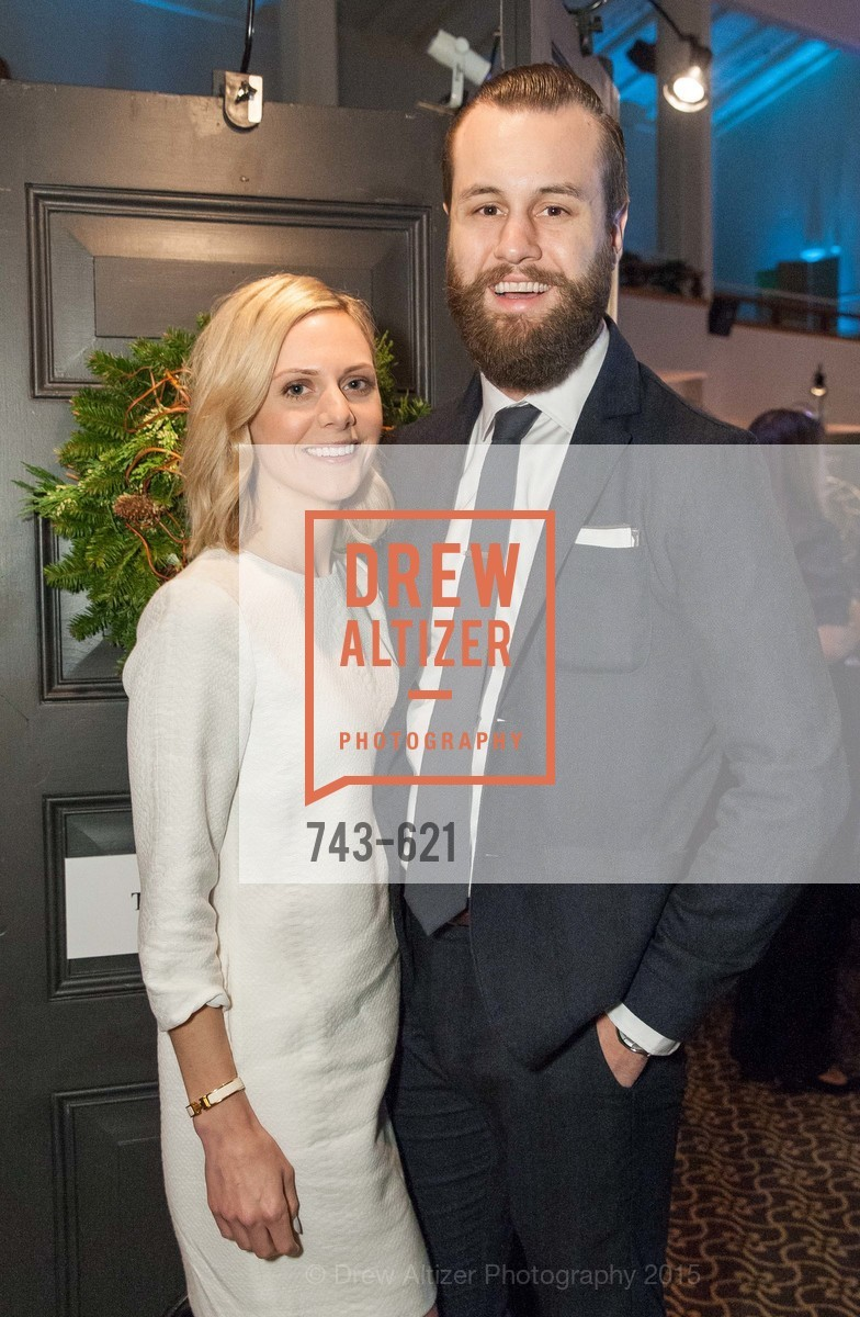 Caroline Cecil, Kevin McAfee, Children of Shelters' Jingle and Mingle, Golden Gate Club. 135 Fisher Loop, December 3rd, 2015,Drew Altizer, Drew Altizer Photography, full-service agency, private events, San Francisco photographer, photographer california