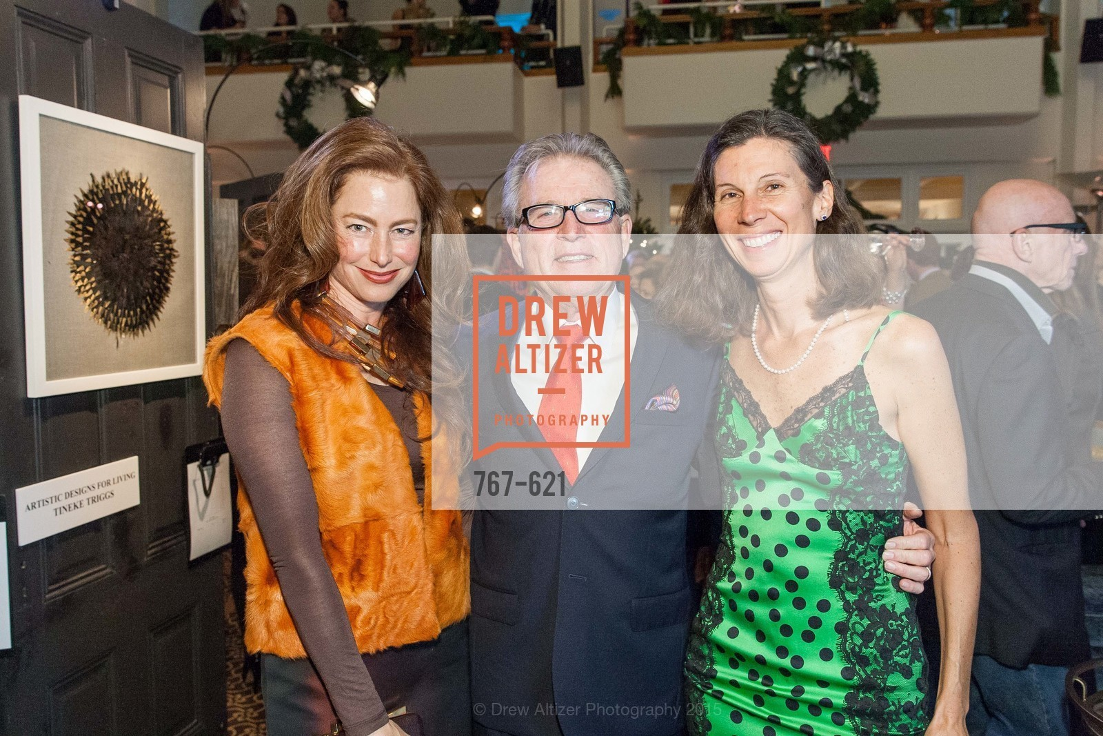 Sheila Nahi, Charles Orr, Jennifer Fonstad, Children of Shelters' Jingle and Mingle, Golden Gate Club. 135 Fisher Loop, December 3rd, 2015,Drew Altizer, Drew Altizer Photography, full-service agency, private events, San Francisco photographer, photographer california