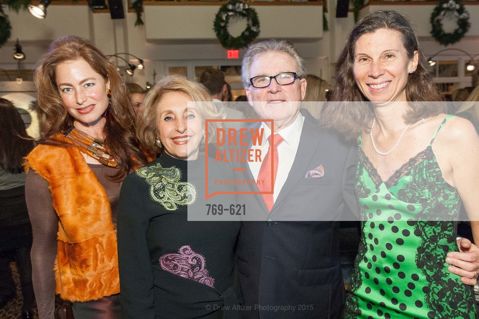 Sheila Nahi, Nazan Orr, Charles Orr, Jennifer Fonstad, Children of Shelters' Jingle and Mingle, Golden Gate Club. 135 Fisher Loop, December 3rd, 2015,Drew Altizer, Drew Altizer Photography, full-service agency, private events, San Francisco photographer, photographer california