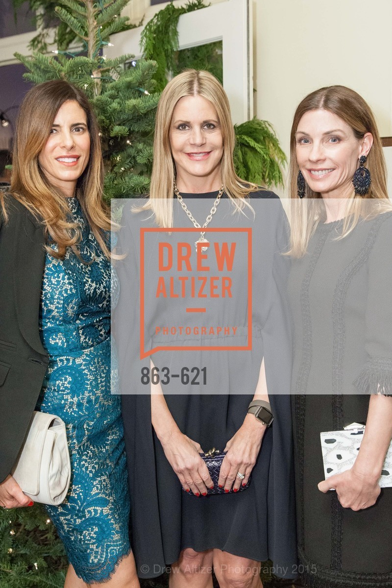 Amy Glass, Mary Beth Shimmon, Lisa Zanze, Children of Shelters' Jingle and Mingle, Golden Gate Club. 135 Fisher Loop, December 3rd, 2015,Drew Altizer, Drew Altizer Photography, full-service agency, private events, San Francisco photographer, photographer california