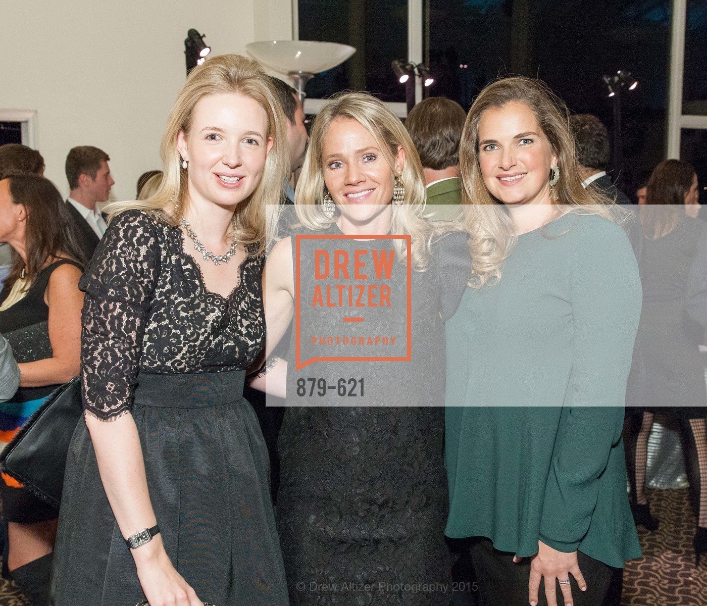 Harriet de Pracomtal, Camille Marks, Wilhelmina Turkovich, Children of Shelters' Jingle and Mingle, Golden Gate Club. 135 Fisher Loop, December 3rd, 2015,Drew Altizer, Drew Altizer Photography, full-service agency, private events, San Francisco photographer, photographer california