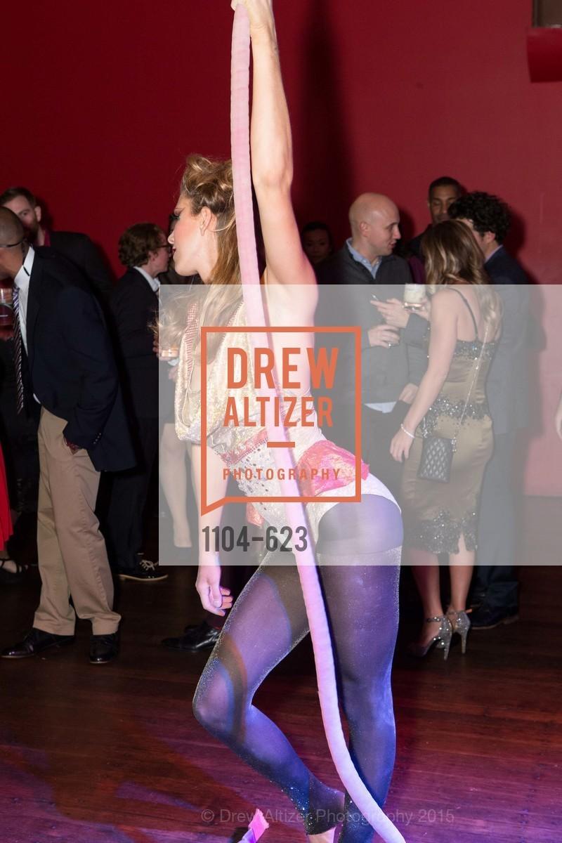 Performance, NerdWallet's Cirque Du Nerd, December 4th, 2015, Photo,Drew Altizer, Drew Altizer Photography, full-service event agency, private events, San Francisco photographer, photographer California