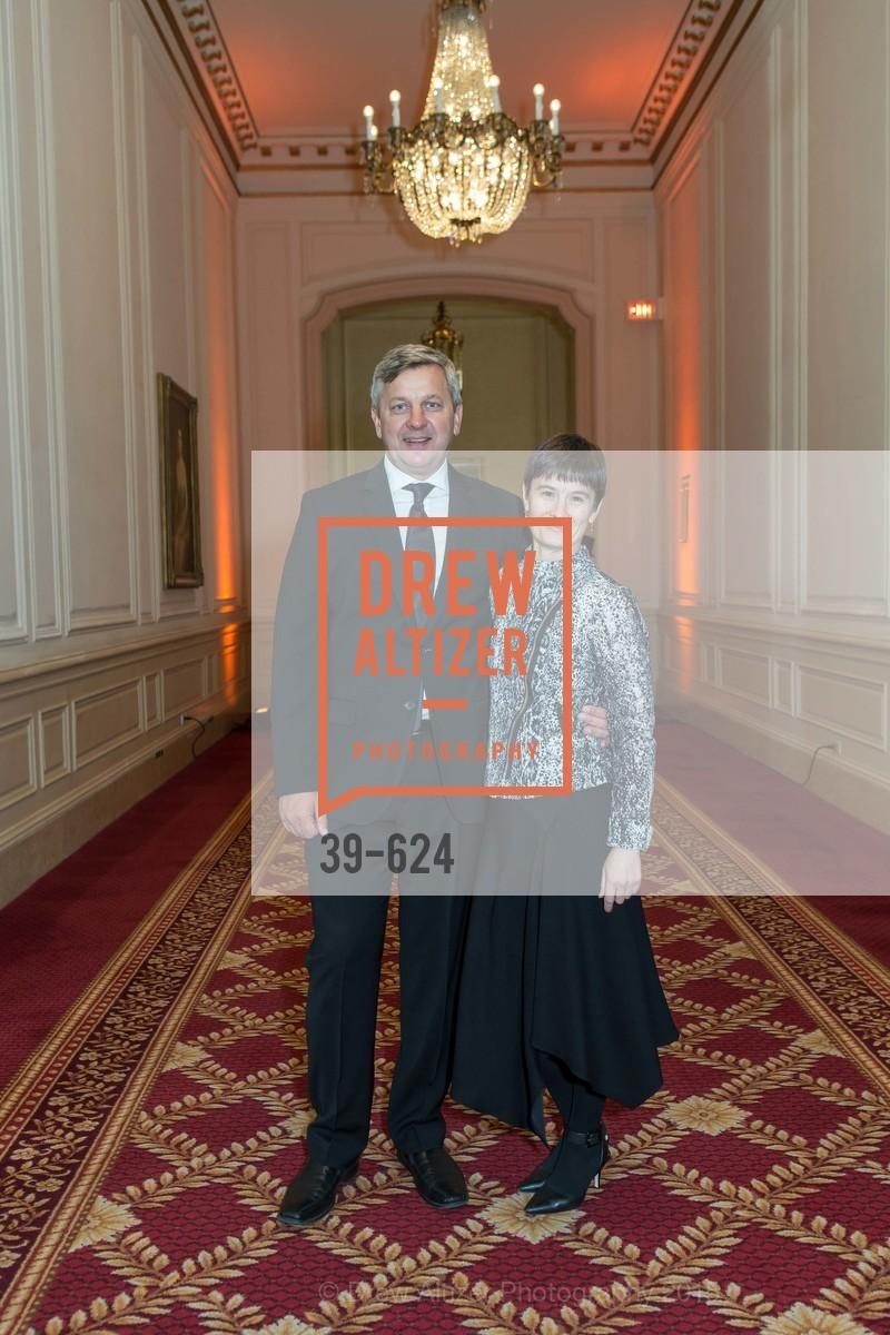 Slava Zhakov, Maria Zhakov, 2015 Raphael House Gala