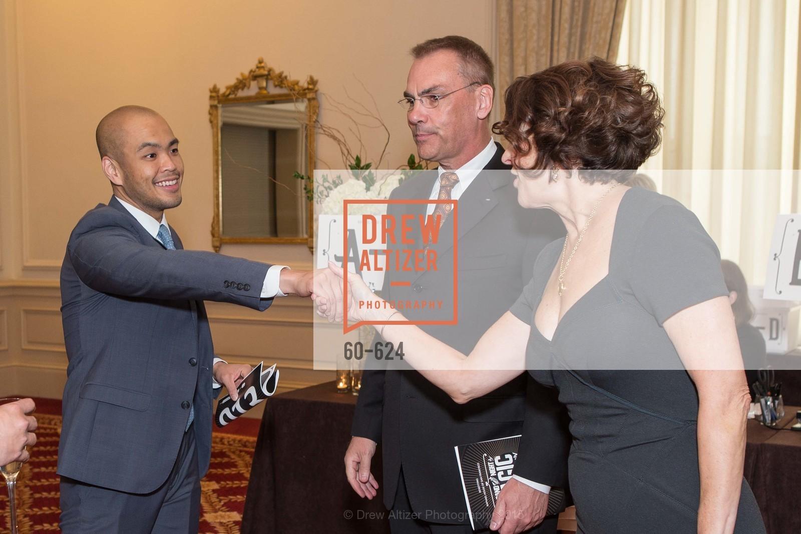 Clarence Chu, Scott Allison, Susan Atherton, 2015 Raphael House Gala
