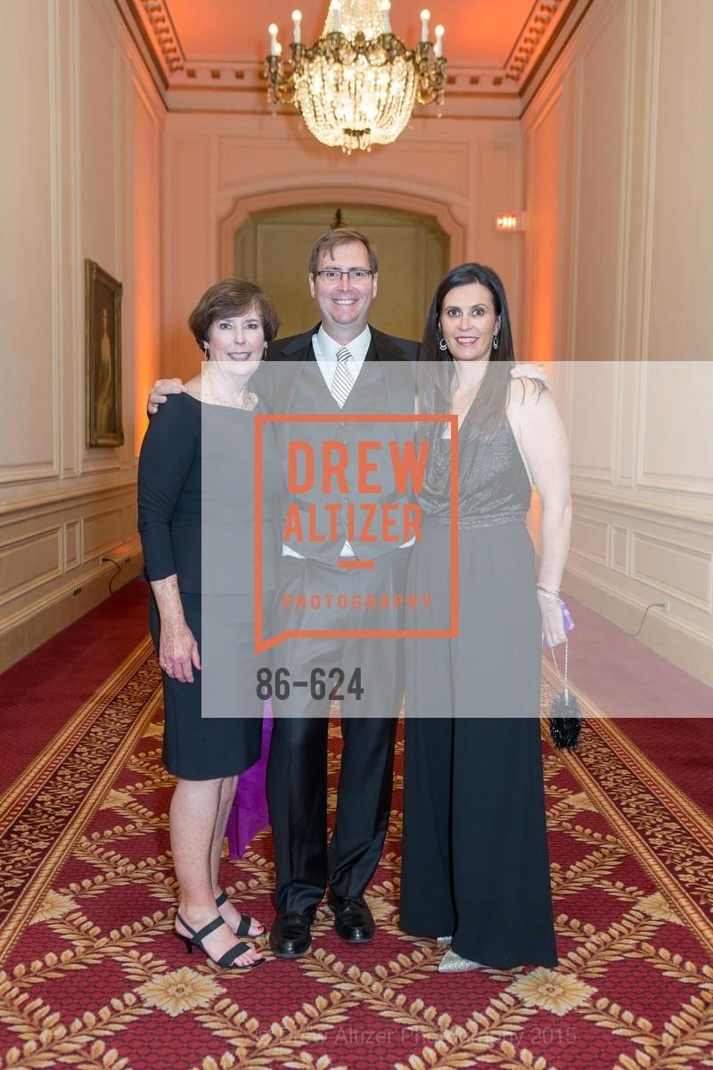 Geri Olson, Scott Olson, Carrie Kluger, 2015 Raphael House Gala