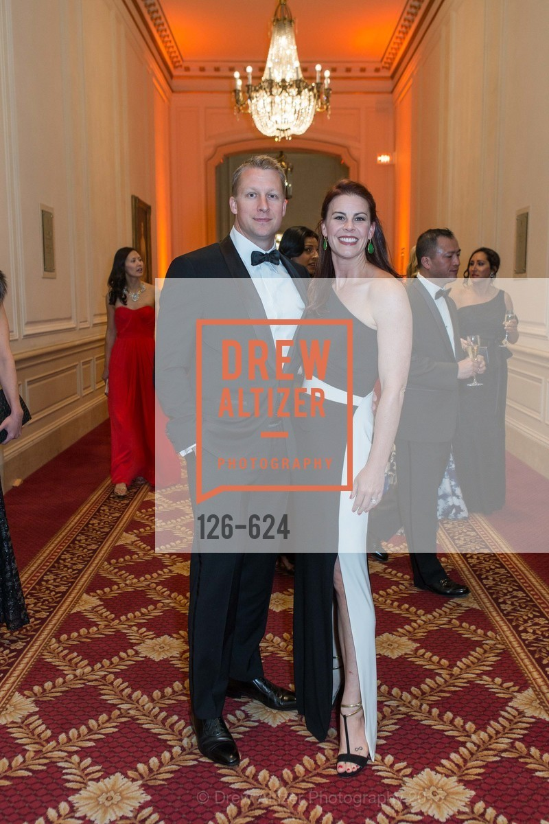 Ben Dibble, Julie Dibble, 2015 Raphael House Gala