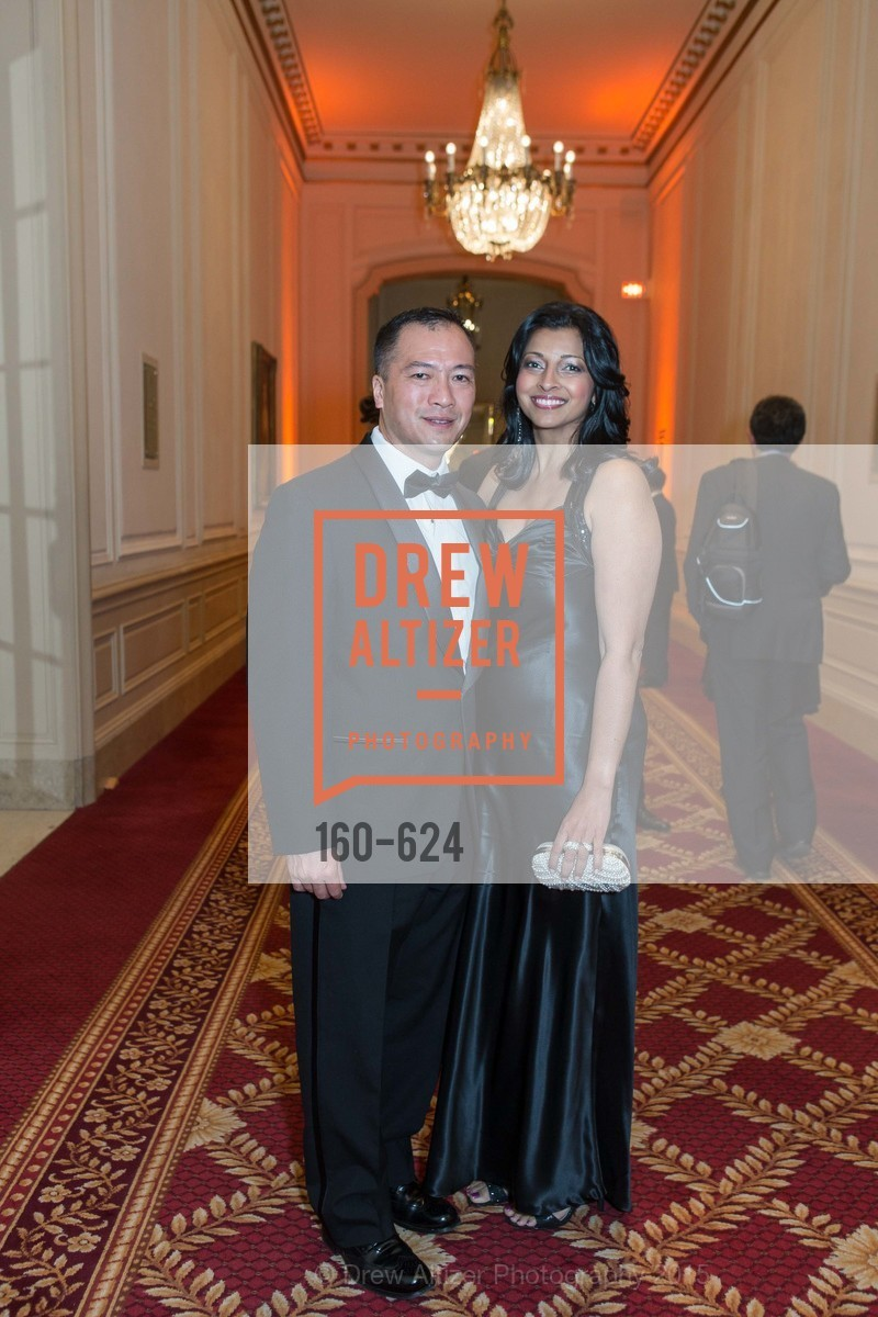 Scott Fong, Farah Amwar, 2015 Raphael House Gala