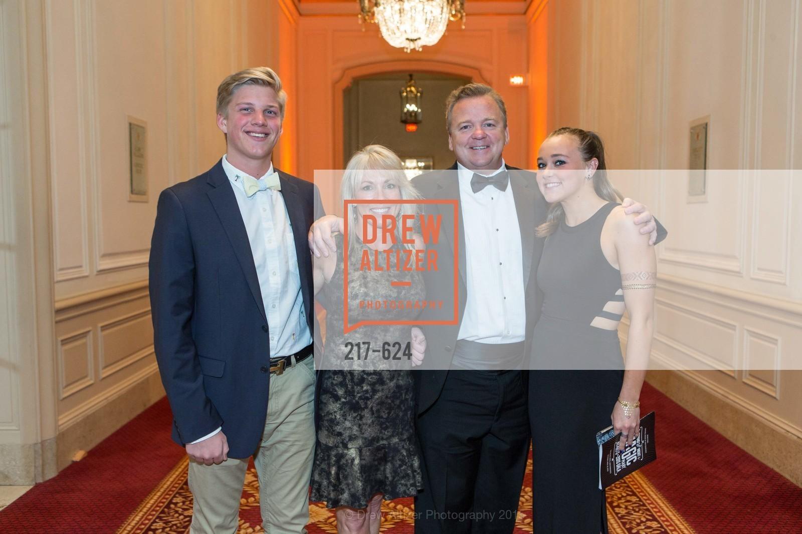 Robert Gigliotti, Jen Doyle, Chuck Doyle, 2015 Raphael House Gala