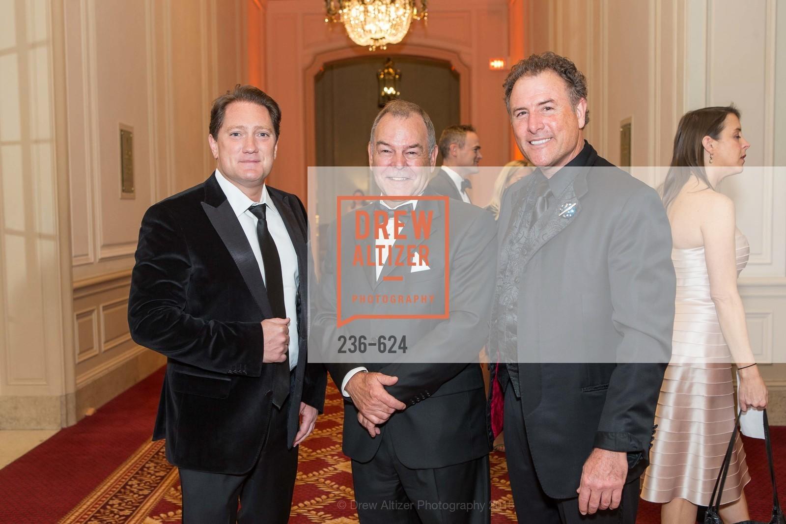 Liam Mayclem, Benjamin Aune, Patrick Martin, 2015 Raphael House Gala