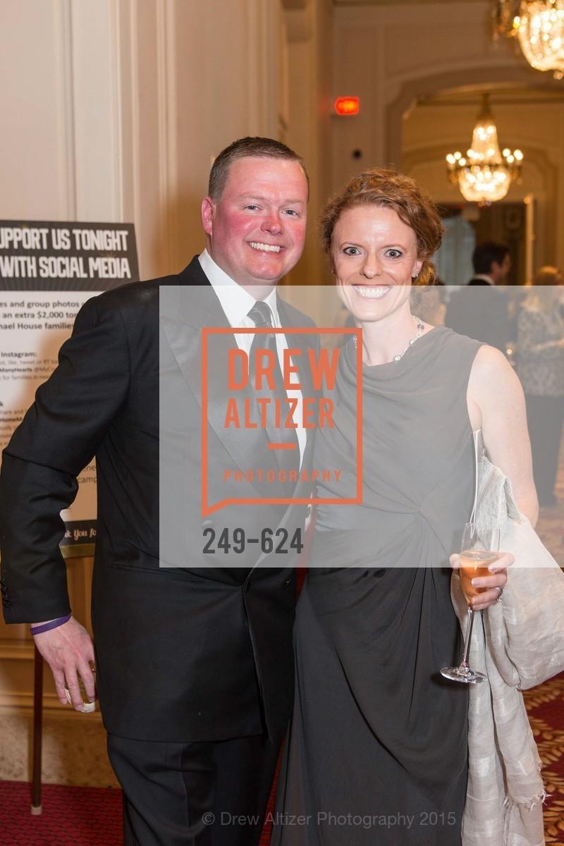 Ted Smith, Sarah Dilullo, 2015 Raphael House Gala
