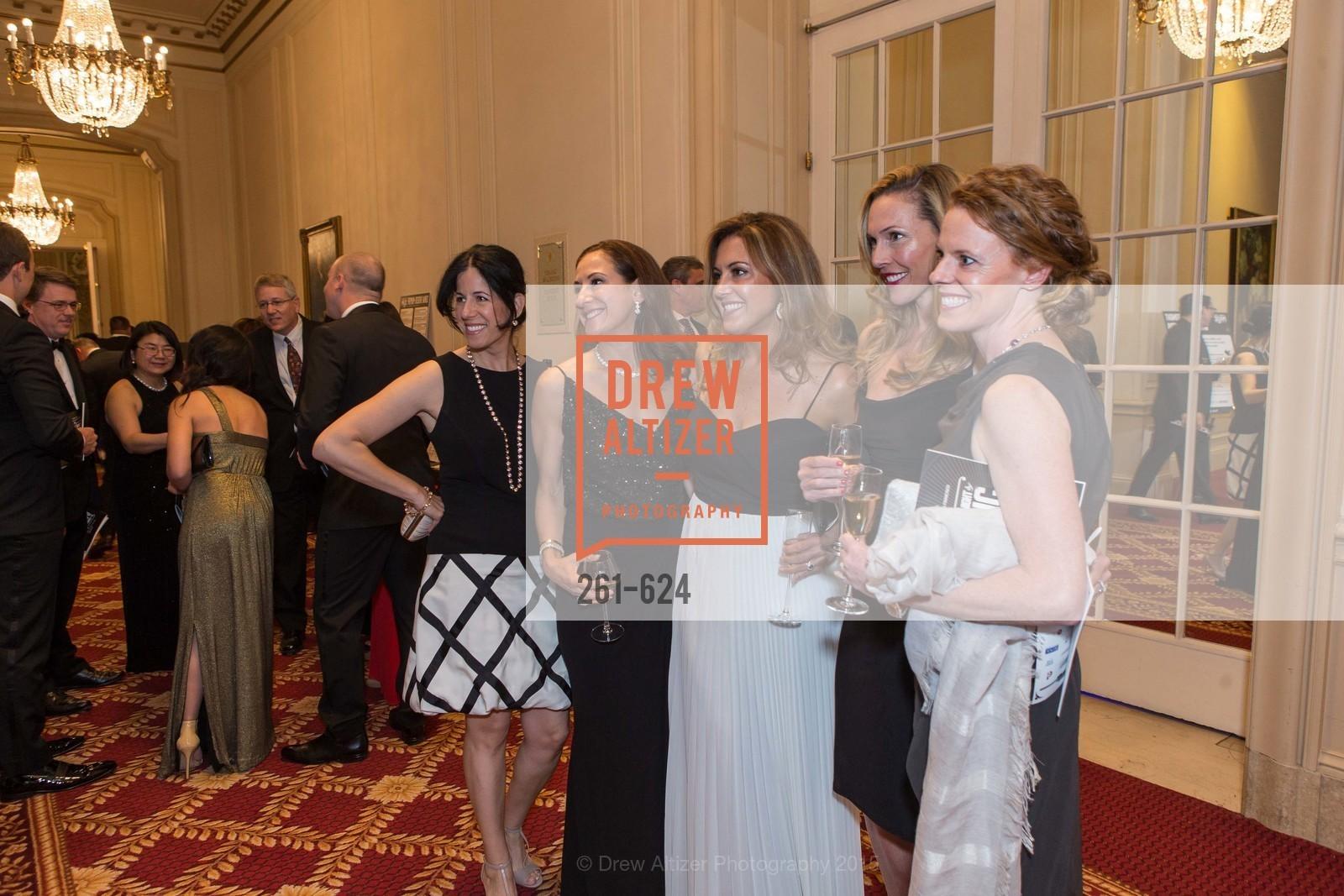 Samantha Bryer, Victoria Dade, Susan Hansen, Alex Lyon, Sarah Dilullo, 2015 Raphael House Gala