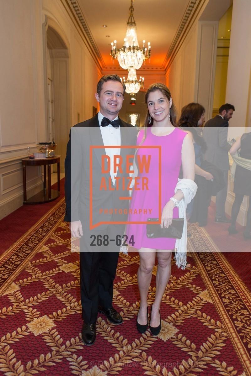 Dan Reuter, Emily Maher, 2015 Raphael House Gala