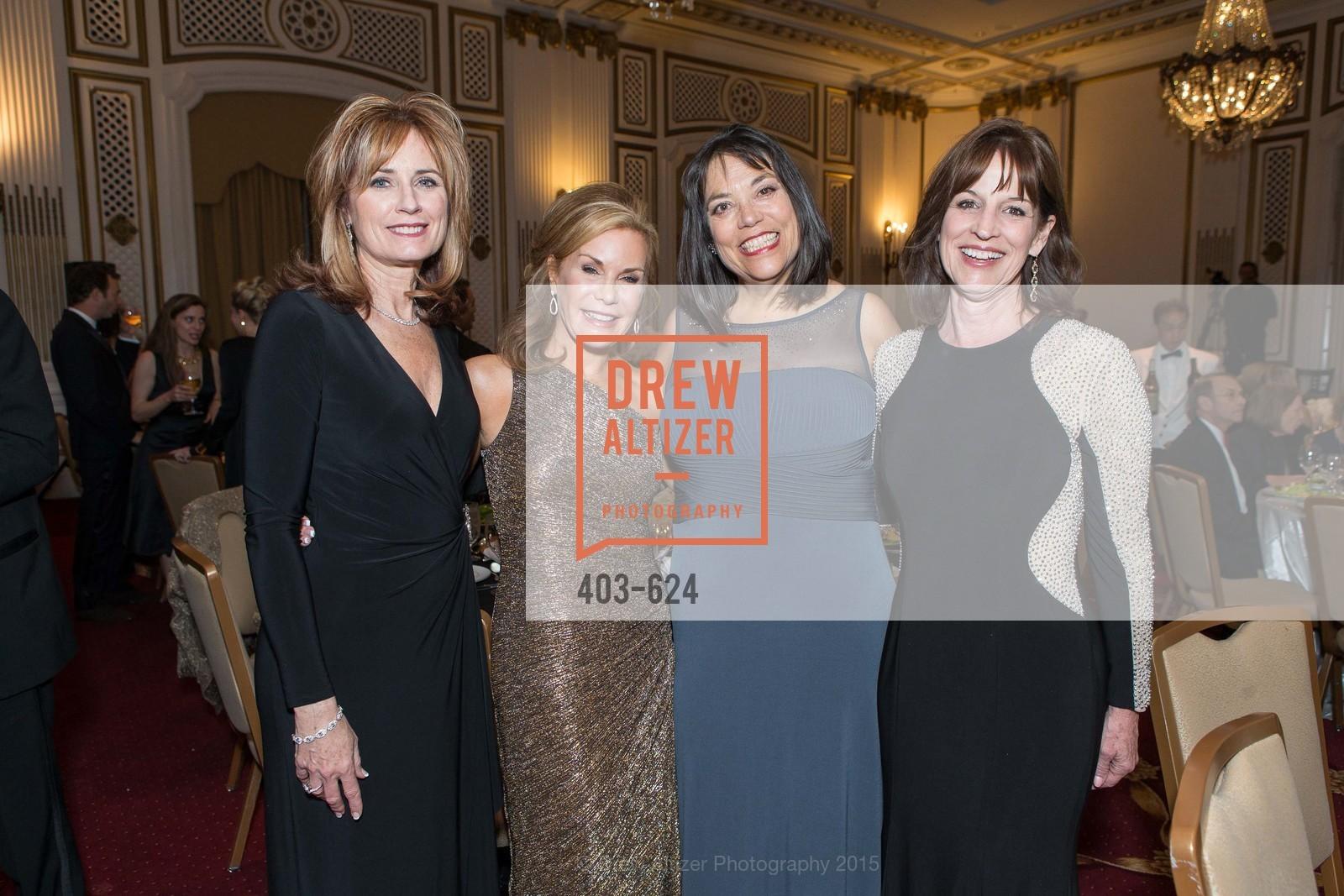 Jana Falej, Laura Beauchesne, Janet Penke, Kim Saunders, 2015 Raphael House Gala