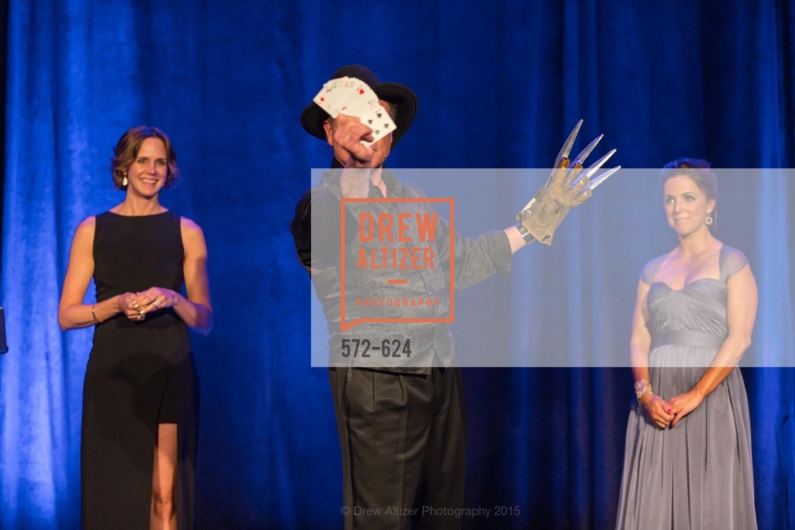 Jessica Moment, Patrick Martin, Lauren Eastman, 2015 Raphael House Gala
