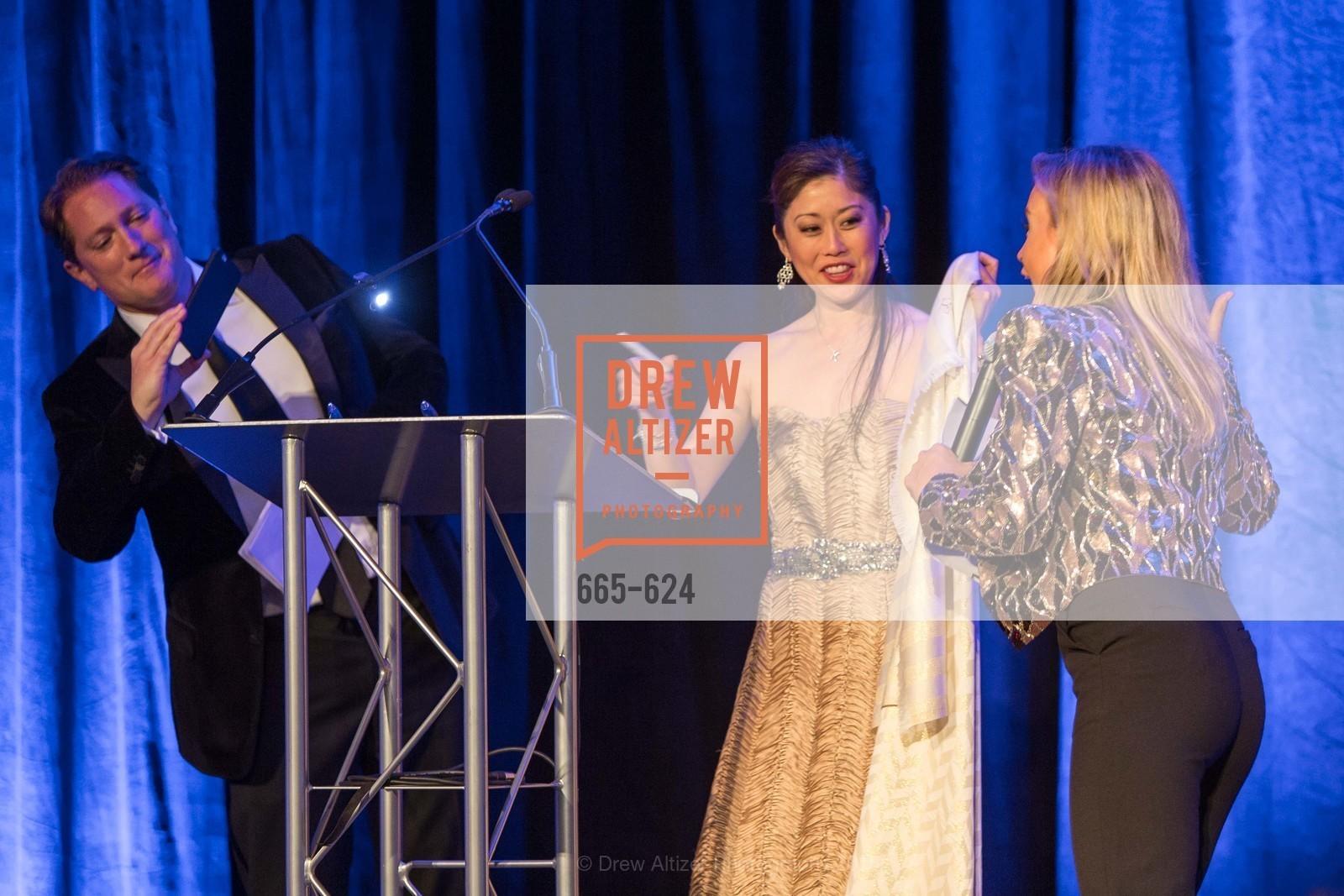 Liam Mayclem, Kristi Yamaguchi, Abra Annes, 2015 Raphael House Gala