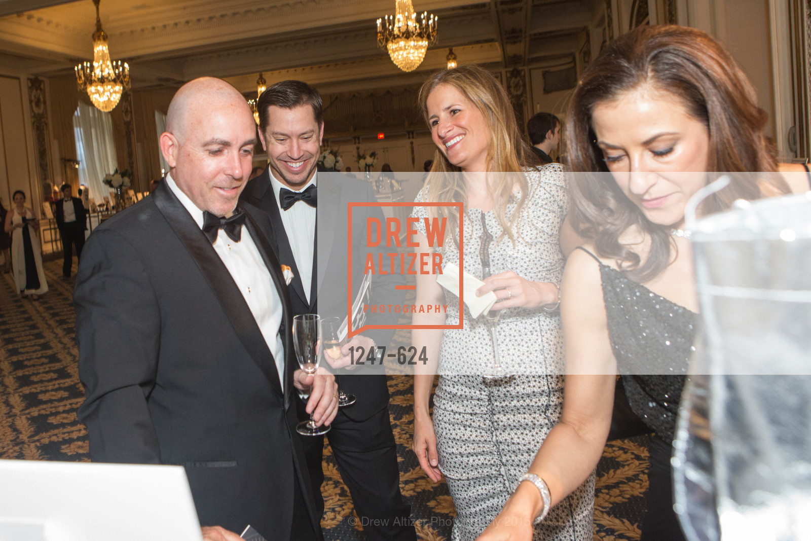 Rick Dade, Drew Hill, Lindsay Hill, Victoria Dade, 2015 Raphael House Gala