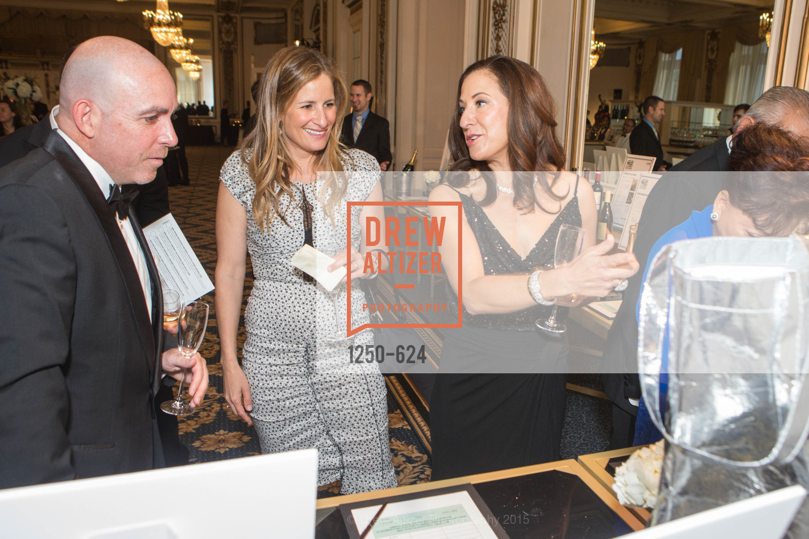 Rick Dade, Lindsay Hill, Victoria Dade, 2015 Raphael House Gala