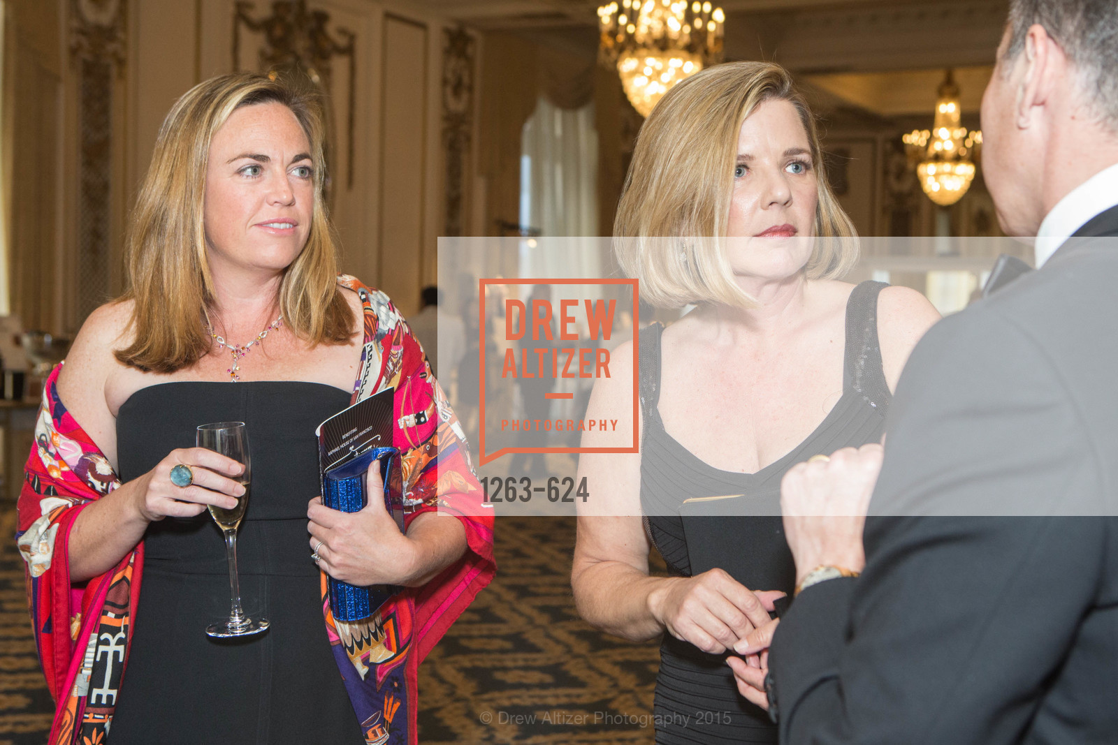 Genevieve Olbres, Jenna Ervice, 2015 Raphael House Gala