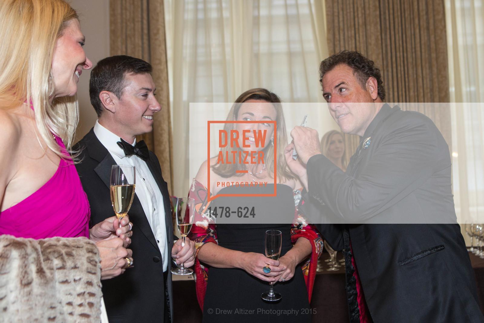 Tyler Olbres, Genevieve Olbres, Patrick Martin, 2015 Raphael House Gala