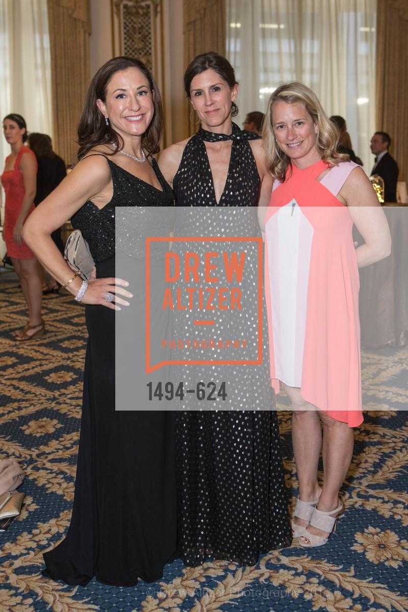 Victoria Dade, Kristin MacKnight, Brooke Kruger, 2015 Raphael House Gala