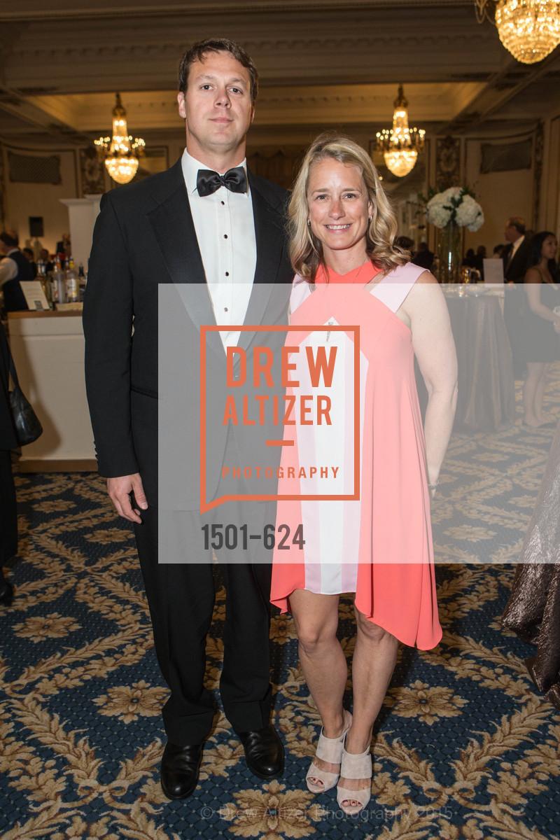 Jeff Kruger, Brooke Kruger, 2015 Raphael House Gala