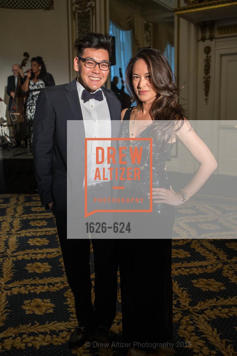 Melvin Lau, Josie Mai, 2015 Raphael House Gala
