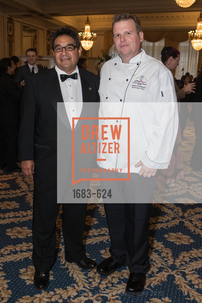 Chef Clyde Serda, Chef James Koskiniemi, 2015 Raphael House Gala