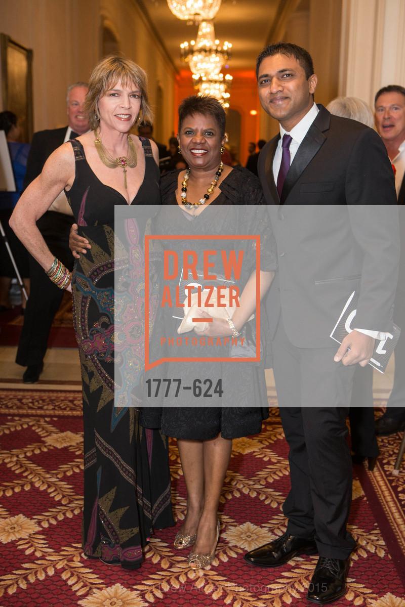 Beth Schnitzer, Murlene Randle, Raghu Shivaram, 2015 Raphael House Gala