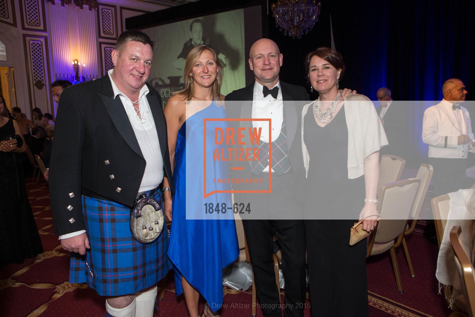 Simon Elliott, Laura Fiddall, John Flynn, Claire Flynn, 2015 Raphael House Gala