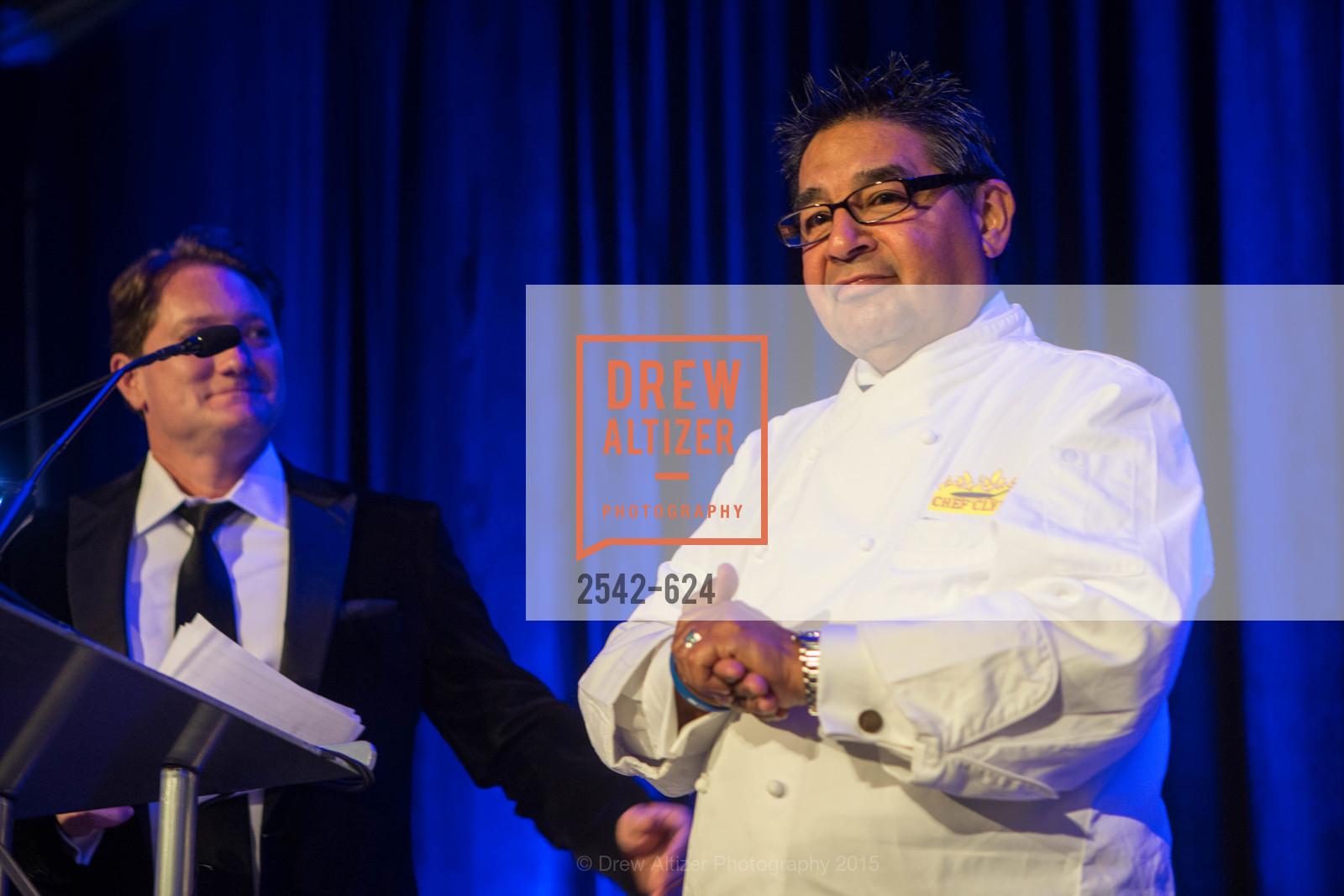 Liam Mayclem, Chef Clyde Serda, 2015 Raphael House Gala