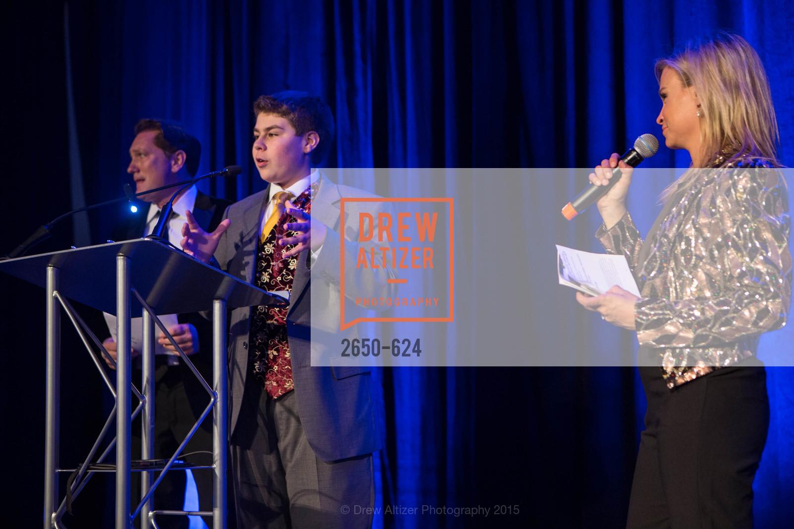 Liam Mayclem, Sam Stromberg, Abra Annes, 2015 Raphael House Gala
