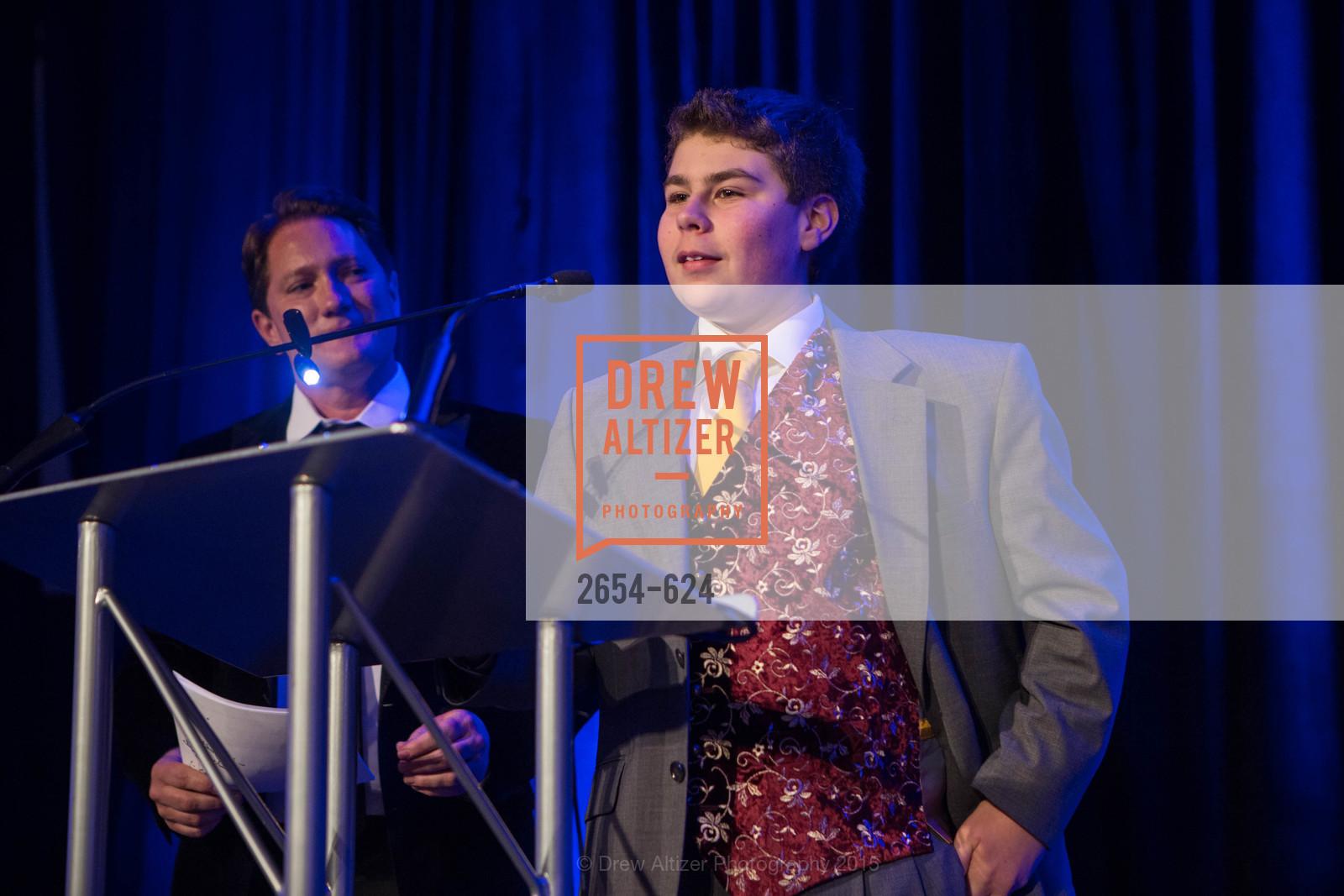 Liam Mayclem, Sam Stromberg, 2015 Raphael House Gala