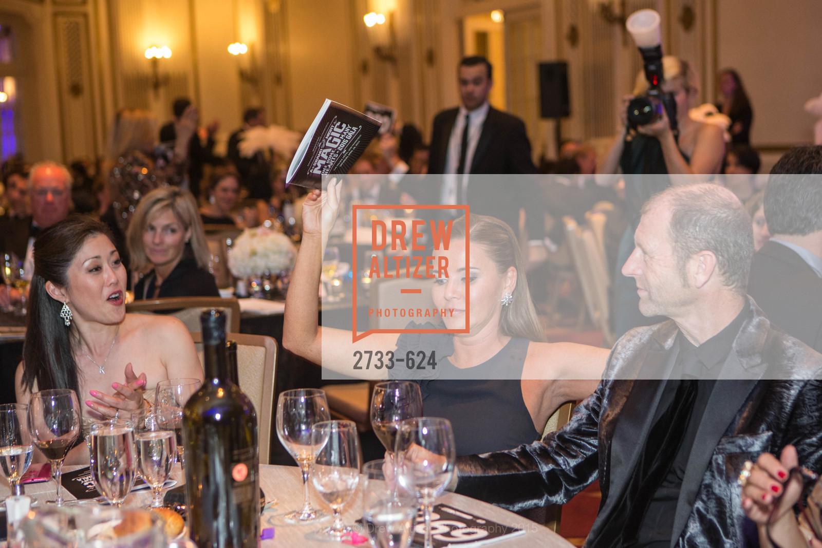 Kristi Yamaguchi, Judy Davies, Glenn Davies, 2015 Raphael House Gala