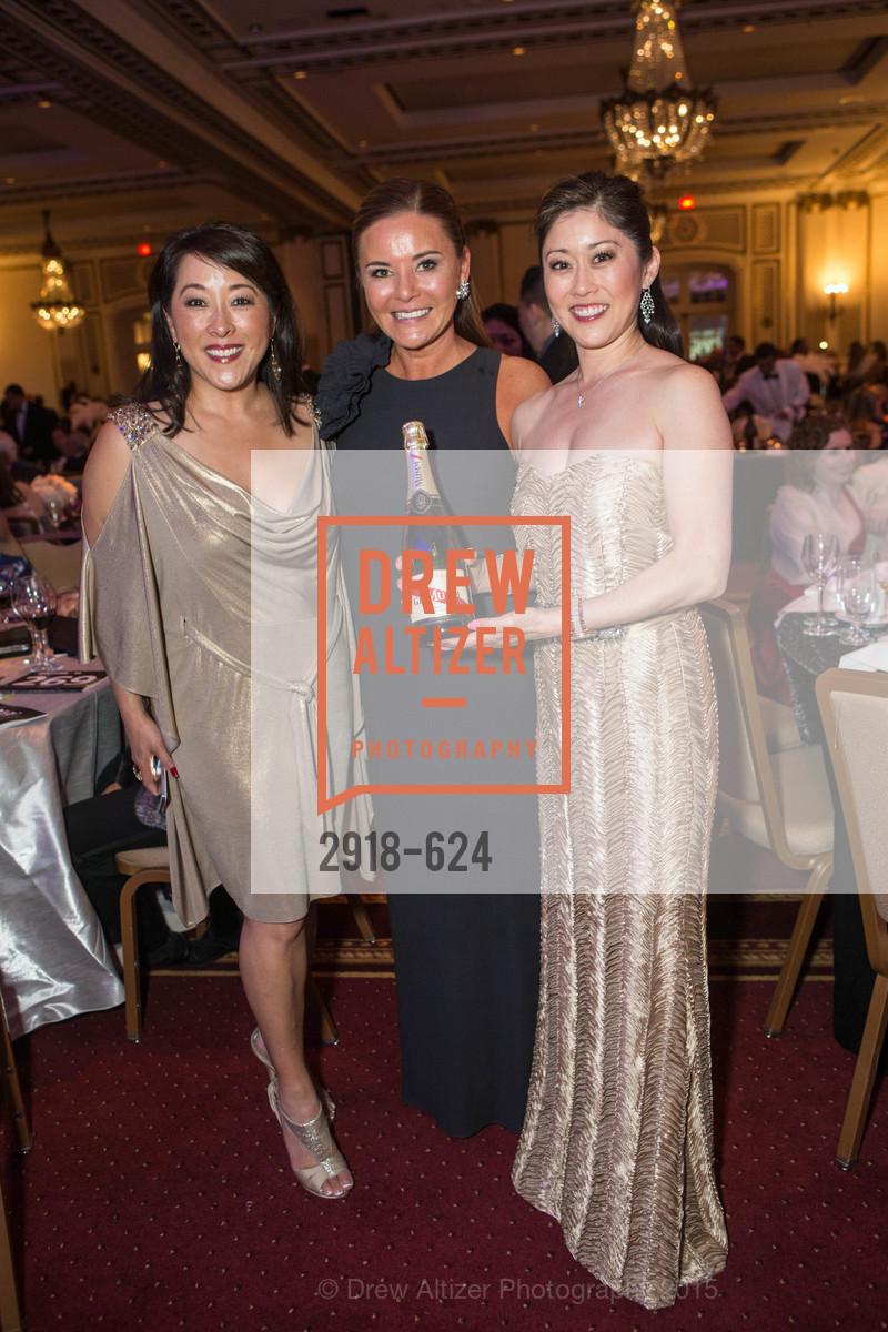 Lori Yamaguchi, Judy Davies, Kristi Yamaguchi, 2015 Raphael House Gala
