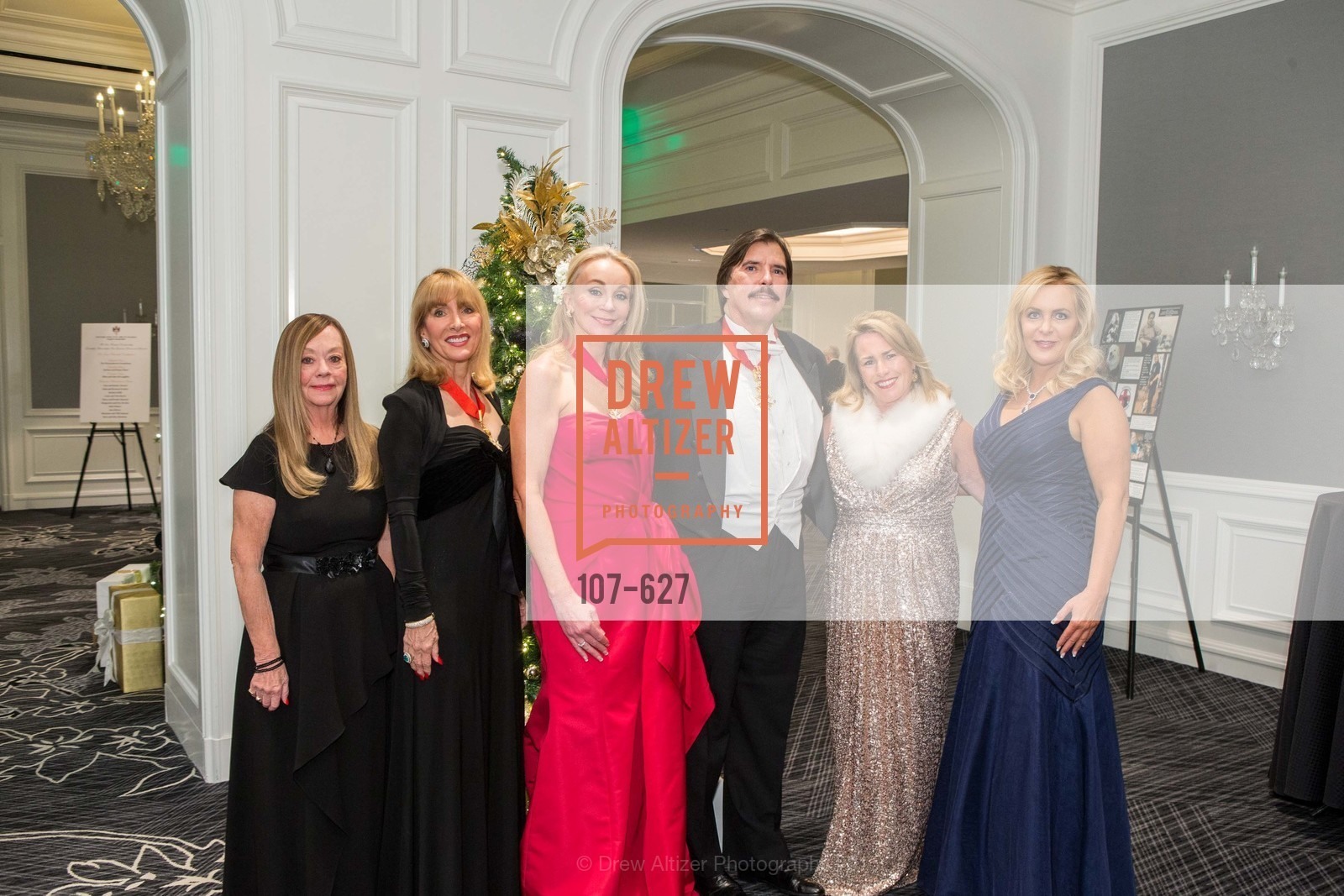 Barbara Oates, Sydene Kober, Giselle Anna Parry, John Rosin, Karen Haake, Michelle Rose, Sovereign Order Of St John of Jerusalem Knights Hospitaller Gala, Ritz Carlton San Francisco, December 5th, 2015,Drew Altizer, Drew Altizer Photography, full-service agency, private events, San Francisco photographer, photographer california