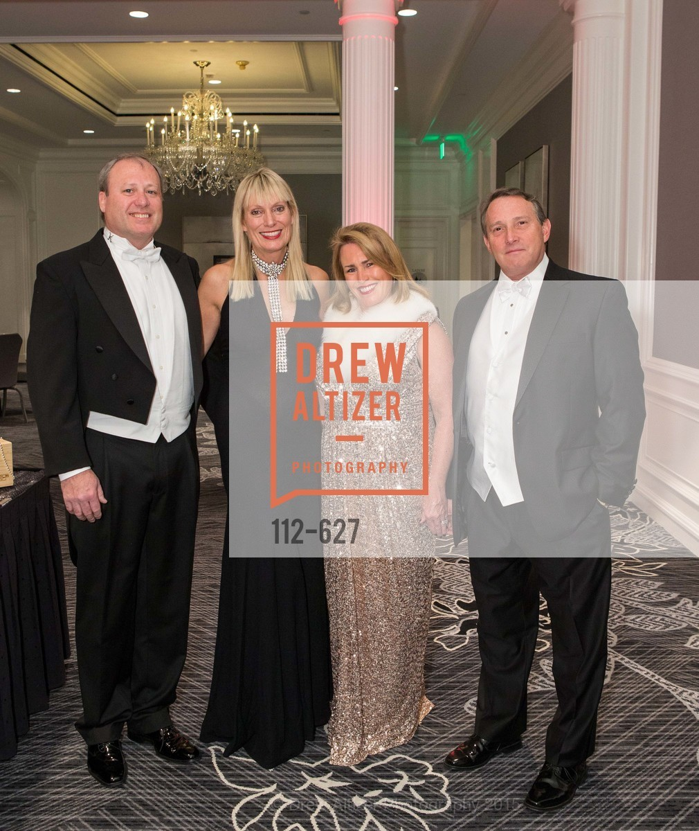 Peter Jagel, Debbie Jagel, Karen Haake, Jeff Haake, Sovereign Order Of St John of Jerusalem Knights Hospitaller Gala, Ritz Carlton San Francisco, December 5th, 2015,Drew Altizer, Drew Altizer Photography, full-service agency, private events, San Francisco photographer, photographer california
