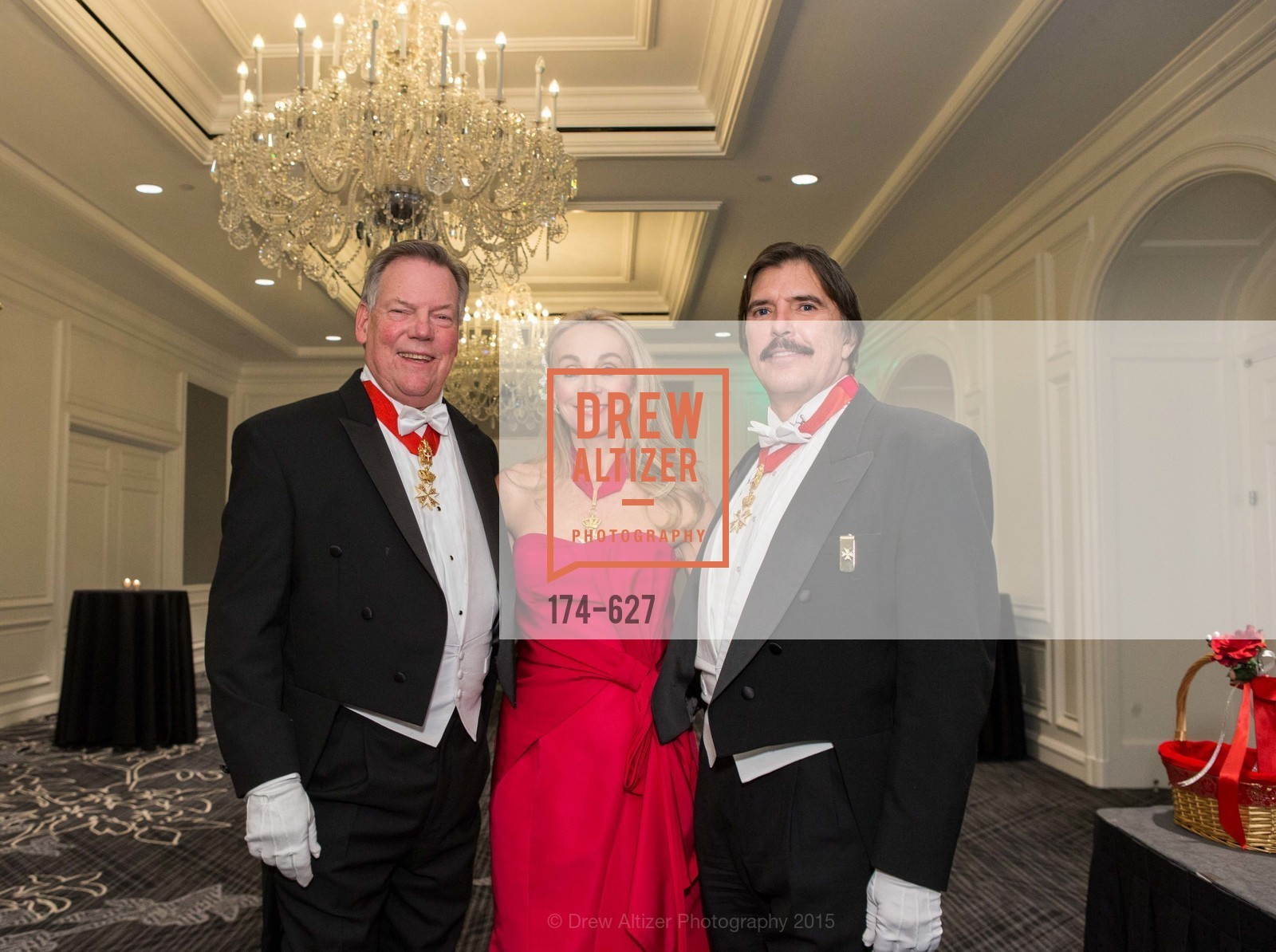 Bill Gisvold, Giselle Anna Parry, John Rosin, Sovereign Order Of St John of Jerusalem Knights Hospitaller Gala, Ritz Carlton San Francisco, December 5th, 2015,Drew Altizer, Drew Altizer Photography, full-service agency, private events, San Francisco photographer, photographer california