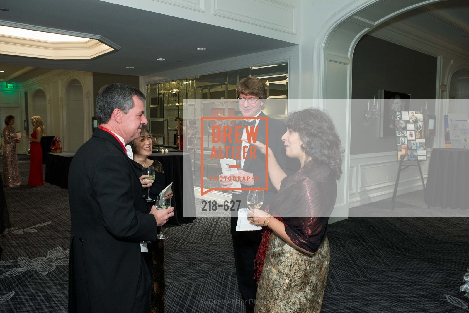 Christopher Greene, Susan Quon, Michael Woodall, Nancy Woodall, Sovereign Order Of St John of Jerusalem Knights Hospitaller Gala, Ritz Carlton San Francisco, December 5th, 2015,Drew Altizer, Drew Altizer Photography, full-service agency, private events, San Francisco photographer, photographer california