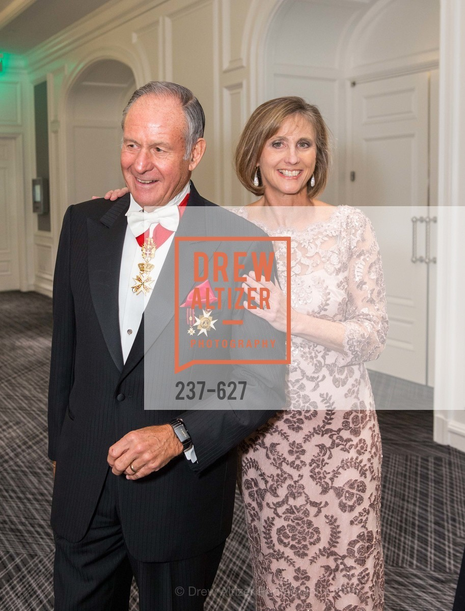 John Sobrato, Sheri Sobrato Brisson, Sovereign Order Of St John of Jerusalem Knights Hospitaller Gala, Ritz Carlton San Francisco, December 5th, 2015,Drew Altizer, Drew Altizer Photography, full-service agency, private events, San Francisco photographer, photographer california