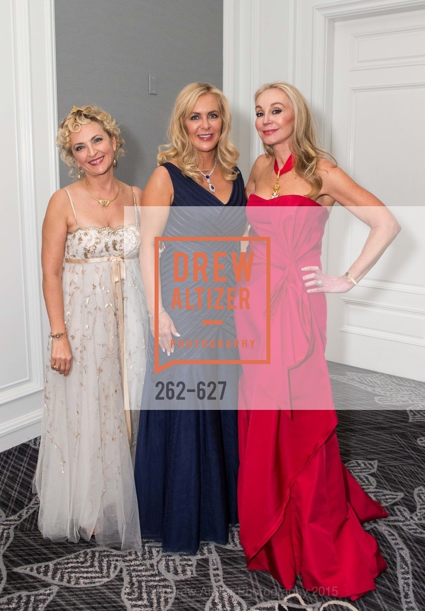 Yuliya Voroninskaya, Michelle Rose, Giselle Anna Parry, Sovereign Order Of St John of Jerusalem Knights Hospitaller Gala, Ritz Carlton San Francisco, December 5th, 2015,Drew Altizer, Drew Altizer Photography, full-service agency, private events, San Francisco photographer, photographer california