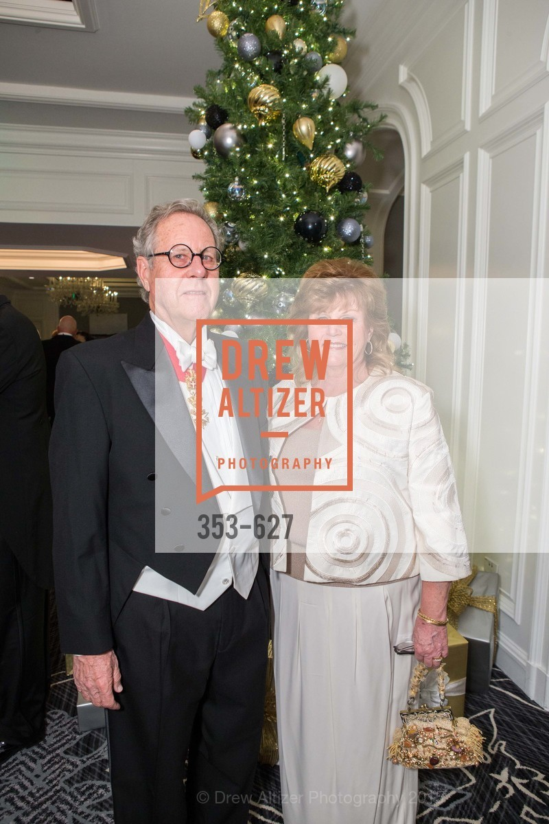 Richard Conniff, Sandi Conniff, Sovereign Order Of St John of Jerusalem Knights Hospitaller Gala, Ritz Carlton San Francisco, December 5th, 2015,Drew Altizer, Drew Altizer Photography, full-service agency, private events, San Francisco photographer, photographer california