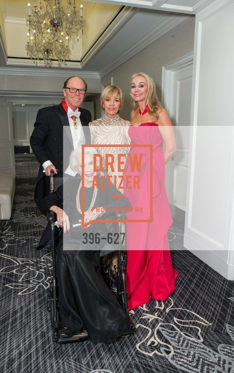 Ray Farris, Jeanne Taylor, Elsie Floriani, Giselle Anna Parry, Sovereign Order Of St John of Jerusalem Knights Hospitaller Gala, Ritz Carlton San Francisco, December 5th, 2015,Drew Altizer, Drew Altizer Photography, full-service agency, private events, San Francisco photographer, photographer california