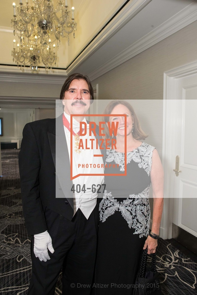 John Rosin, Colleen Wilcox, Sovereign Order Of St John of Jerusalem Knights Hospitaller Gala, Ritz Carlton San Francisco, December 5th, 2015,Drew Altizer, Drew Altizer Photography, full-service agency, private events, San Francisco photographer, photographer california